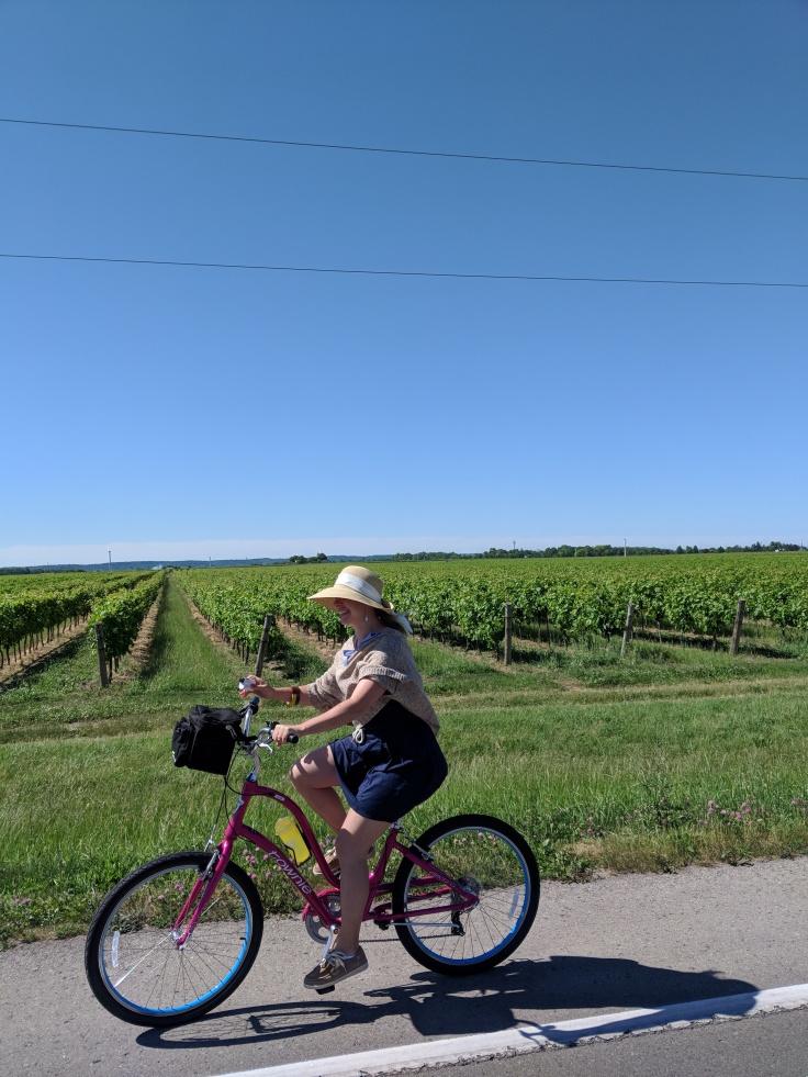 À vélo !